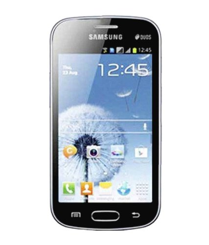 41p3XeEjYpL. SL500  Samsung GT S7562 BK Galaxy S Duos Android Smartphone with Dual SIM, 5MP Camera, A GPS support and LED Flash   No Warranty   Black