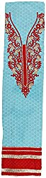 HARRA Women's Cotton Unstitched Dress Material(HANS - NAKSHTRA - 2148, Sky Blue)