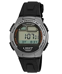 Casio Youth Digital Multi-Color Dial Unisex Watch - W-734-1AVDF (D090)