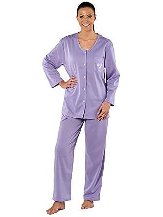 B3-84301-Pippa Long Sleeve Round Neck Pyjama. 14/16 Lavender