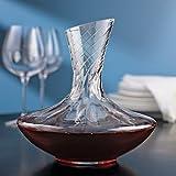 Wine Enthusiast Allure Aerating Decanter