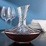 Wine Enthusiast Allure Aerating Decanter