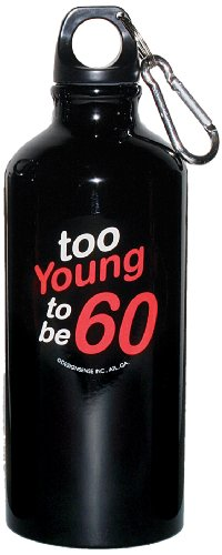 Design Sense Water Bottle (Too Young to be 60) - 1