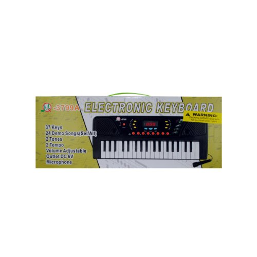 Bulk Buys Electronic Keyboard With Microphone (Set Of 3)
