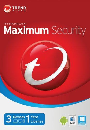 Trend Micro Titanium Maximum 2014 3 Users