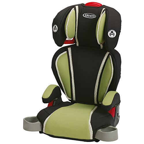 Graco Highback Turbobooster Car Seat, Go Green (Portable High Chair Graco compare prices)