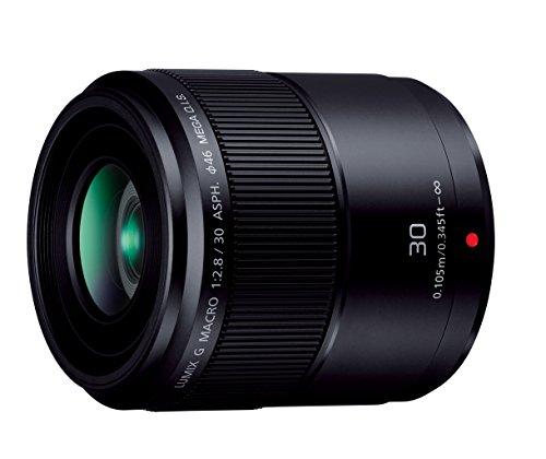 Panasonic マイクロフォーサーズ用 30mm F2.8 単焦点 マクロレンズ LUMIX G MACRO ASPH./MEGA O.I.S. ブラック H-HS030