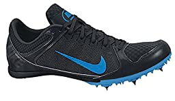 Nike Zoom Rival MD 7 Unisex Track Spike Running Shoe (Men 8 Women 9.5, Black/Photo Blue)