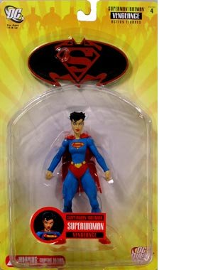 Superman Batman Series 4 With A Vengeance Superwoman Action Figure by DC Comics