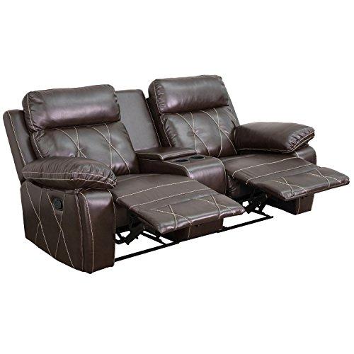 Real Comfort Series Home Theatre Recliner BT-70530-2-BRN-GG