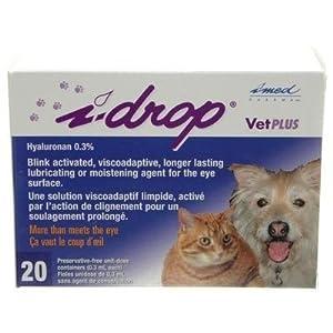 I Drop Vet Plus Eye Lubricant - 20 Single Unit Dose Container