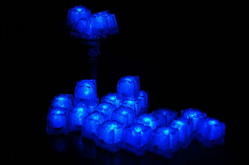 Set-of-24-Litecubes-Brand-Jewel-Color-Tinted-Sapphire-Blue-Light-up-LED-Ice-Cubes