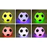 COFFLED ® 7Color Change LED Lamp Football Soccer NightLight Xmas Party Decor Kid Gift Toy