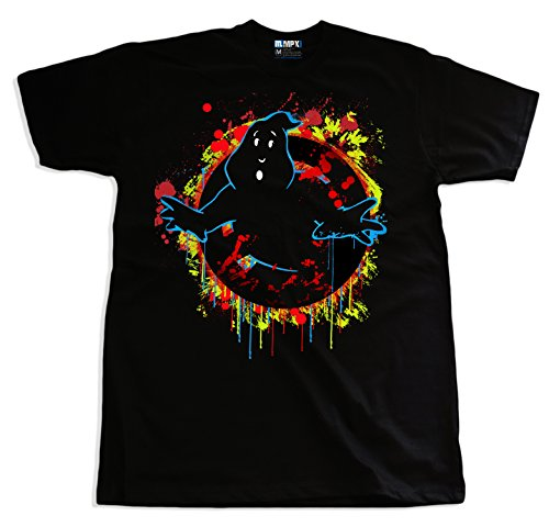 Ghostbusters Splash Art Grafitti T-shirt