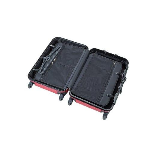[キャプテンスタッグ] CAPTAIN STAG トラベルスーツケース(TSAロック付きハードフレームタイプ) (ブラック) ブラック M MT-3542