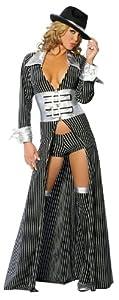 Roma Costume 2 Piece Mafia Mama As Shown by Roma Costume