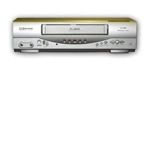 Emerson EWV403 4-Head Video Cassette Recorder with On-Screen Programming Display