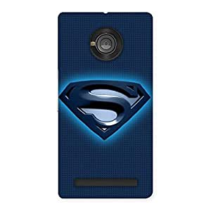 Special Blue Day Back Case Cover for Yu Yuphoria