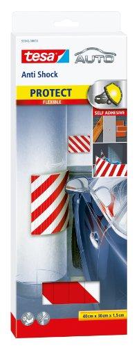 Tesa 40 x 30 cm Anti-Shock Flexible Self Adhesive Car Bodywork Protection Pad
