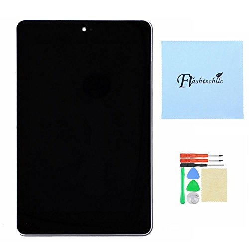 Lcd Touch Screen Digitizer + Silver Frame Faceplate For Asus Google Galaxy Nexus 7