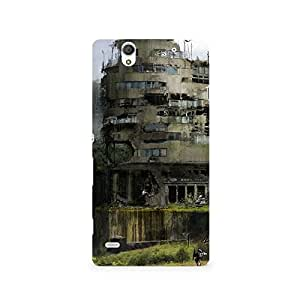 TAZindia Designer Printed Hard Back Case Cover For Sony Xperia C4