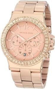 Michael Kors MK5412 Glitz Chronograph Rose Gold Dial Watch