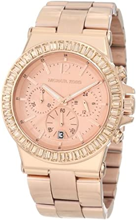 Michael Kors Women's MK5412 Dylan Rose-Tone Watch