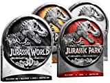 JURASSIC PARK Tin Collection (with JURASSIC WORLD in 3D) 1 2 3 4 Lost World (Blu-ray Tin Edition) [Region-Free Limited Edition]