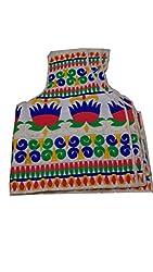 Alankar Textiles Kachi Work Multicolor Unstitched Blouses