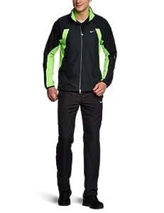 NIKE Herren Jacke Shifter, black/electric green/reflective silver, XXL, 424232-018