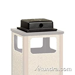Rubbermaid Commercial Products FGWU3 Weather Urn for Aspen Series R18SU Outdoor Ash/Trash Cans