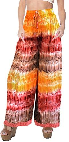 lounge-wear-tiedye-palazzo-pants-beachwear-elastic-waist-baggy-trouser-ankle-length-comfy-airy