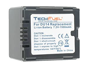 Hitachi DZ-BP07PW Camcorder Replacement Battery - Professional Quality TechFuel Extended Capacity Li-ion Battery