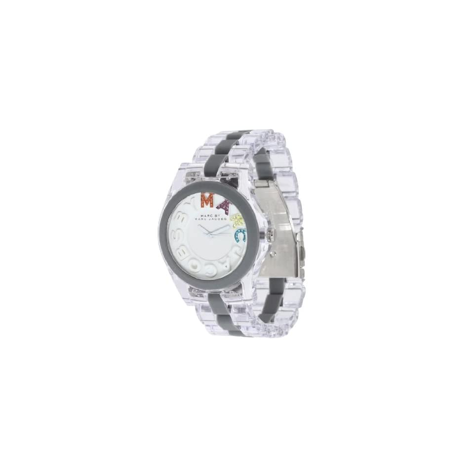 b499904aec00e Marc by Marc Jacobs Womens MBM4548 Rivera 3 Hand Analog Nylon and Silicone  Watch