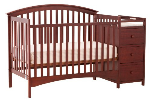 Cherry Wood Cribs front-7951