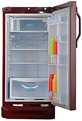 Godrej RD EDGEZX 195 CTS 5.2 Direct-cool Single-door Refrigerator (195 Ltrs, 5 Star Rating, Wine Flora)