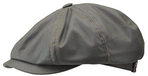 hatteras-waxed-cotton-cap-stetson-berretti-oilskin-protezione-antipioggia-60-cm-nero