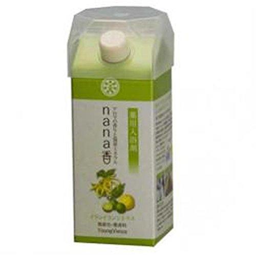 薬用入浴剤nana香 イランイランシトラス