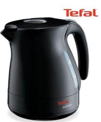 Tefal Electric Tea Kettle Cordless Black KO3408 Hot Water Pot Coffee Maker 1L (Tefal Electric Water Kettle compare prices)