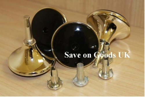 Set of 4 Castors Gliders, Bed Feet. Furniture & Bed- Set of 4 with sleeves