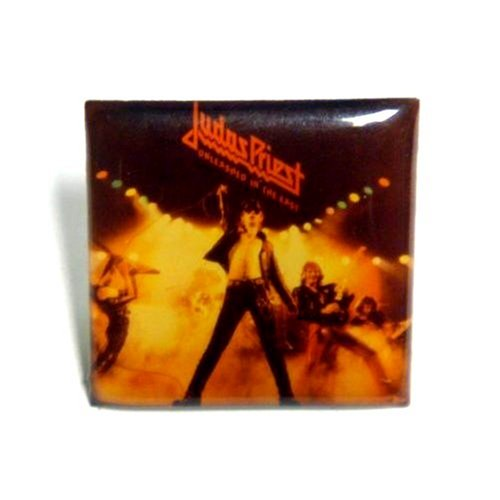 Judas Priest~ Judas Priest Button~ Rare Vintage Button!!
