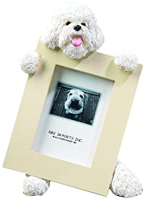Bichon Frise Dog 2.5'' x 3.5'' Photo Frame