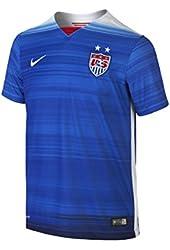 Nike USA Youth Short Sleeve Away Stadium Jersey (GAME ROYAL/ROYAL BLUE)