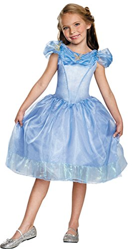 Disguise Cinderella Movie Classic Costume, X-Small (3T-4T)