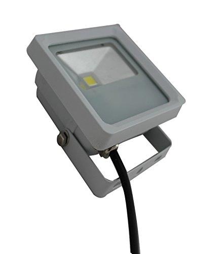 Rantoon 10W Led Ultra Slimline Floodlight Outdoor Lighting Grey Color