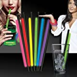 """Variety Pack Glow Straws and Bracelets-9""""- 25 Pack"""