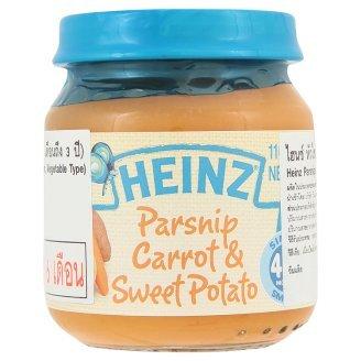 Heinz Parsnips, Carrots & Sweet Potatoes 110G front-313809