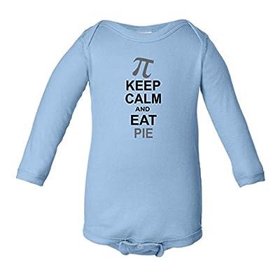 Keep Calm And Eat Pie Infant Long Sleeve Bodysuit