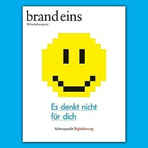 brand eins audio: Digitalisierung Audiomagazin