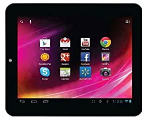 """HKC 8"""" Dual-Core Tablet WiFi 1.5 Ghz Android 4.1 OS (Jelly Bean)"""